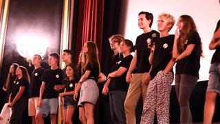 Neuchâtel: des ados présentent leur film sur grand écran
