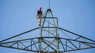 Justice: la tension sera bien augmentée sur une ligne électrique traversant le Jura